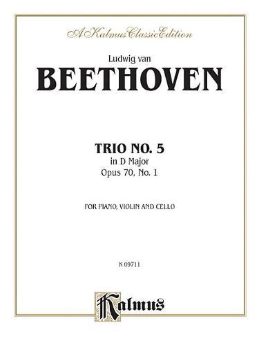 Piano Trio No. 5, Op. 70 No. 1: D Major (Book)