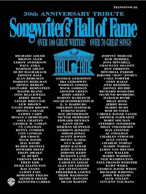 Songwriters Hall of Fame: 30th Anniversary Tribute (Paperback)