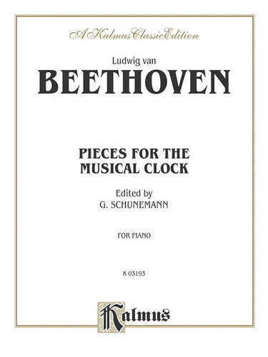 Pieces for the Musical Clock (Book)