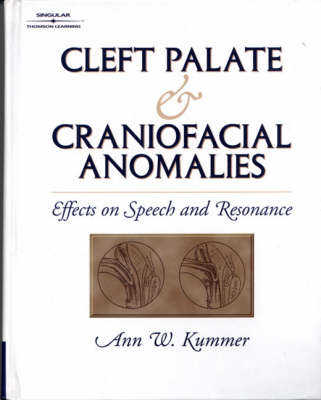 Cleft Palate and Craniofacial Anomalies (Paperback)
