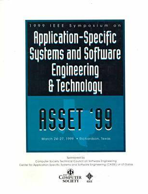 Workshop on Application-specific Software Engineering and Technology: ASSET '99 (Paperback)