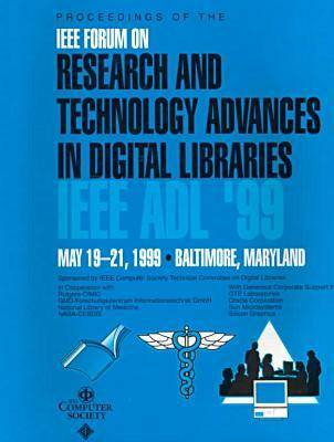 6th Advances in Digital Libraries (Adl '99) (Paperback)