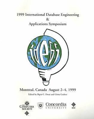 1999 International Symposium on Database Engineering and Applications (Ideas '99) (Paperback)