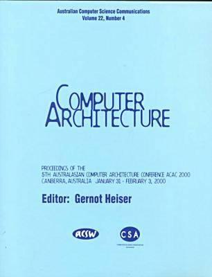 Australasian Computer Architecture Conference (Paperback)