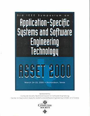 Application-Specific Systems and Software Engineering (Asset 2000) (Paperback)