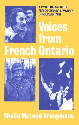 Voices from French Ontario (Paperback)