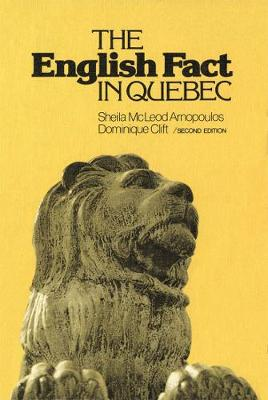 The English Fact in Quebec (Paperback)