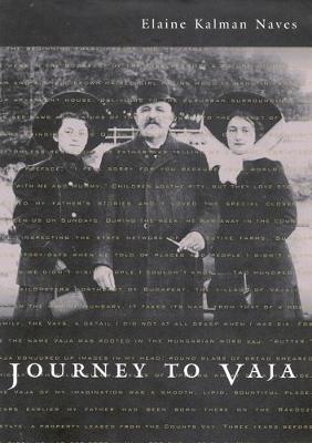 Journey to Vaja: Reconstructing the World of a Hungarian-Jewish Family - NONE (Hardback)