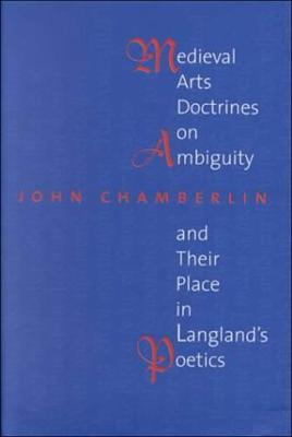 Medieval Arts Doctrines on Ambiguity and Their Places in Langland's Poetics (Hardback)