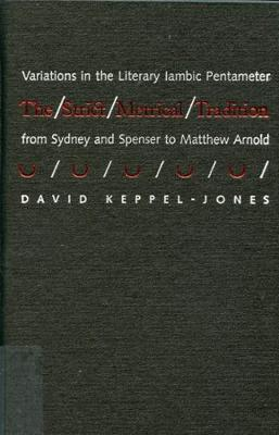 The Strict Metrical Tradition: Variations in the Literary Iambic Pentameter From Sidney and Spenser to Matthew Arnold (Hardback)