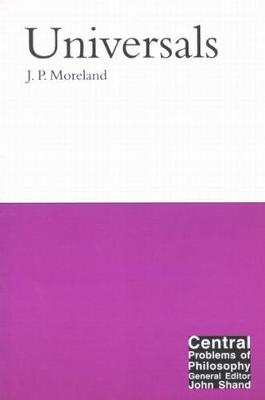 Universals - Central Problems of Philosophy 2 (Paperback)