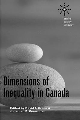 Dimensions of Inequality in Canada - Equality | Security | Community (Hardback)