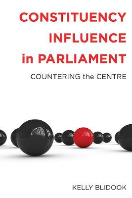 Constituency Influence in Parliament: Countering the Centre (Paperback)