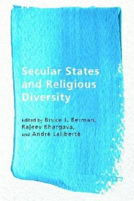 Secular States and Religious Diversity - Ethnicity and Democratic Governance (Hardback)