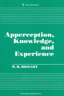 Apperception, Knowledge, and Experience - Philosophica (Paperback)