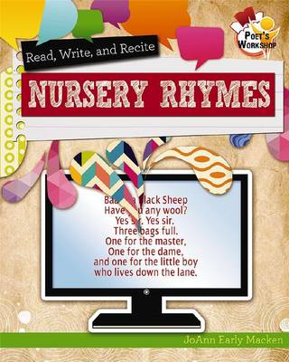 Read, Recite, and Write Nursery Rhymes - Poet's Workshop (Paperback)