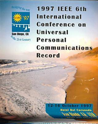 Universal Personal Communications (Icupc): 1997 IEEE 6th International Conference (Paperback)