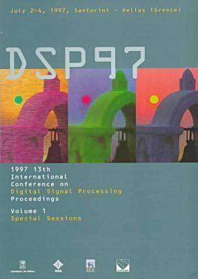 International Conference on Digital Signal Processing 1997,13th (Paperback)
