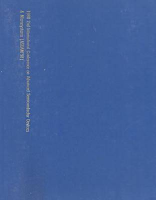 Advanced Semiconductor Devices and Microsystems: 2nd: International Conference (Paperback)