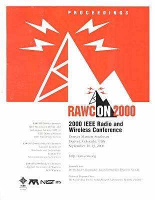 2000 IEEE Radio and Wireless Conference (Rawcon) (Paperback)