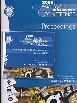 Asia-Pacific Microwave Conference Proceedings: 2001 APMC (Paperback)