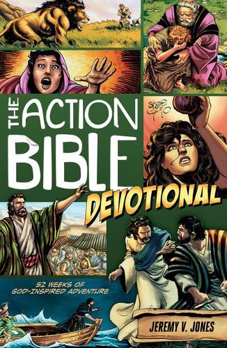 Action Bible Devotional: 52 Weeks of God-inspired Adventure (Paperback)