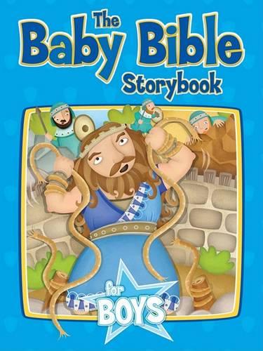 Baby Bible Storybook for Boys (Hardback)