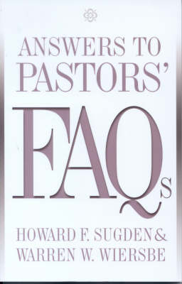 Answers to Pastors' FAQs (Paperback)