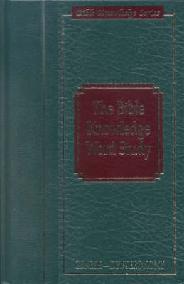 Bible Knowledge Word Study: Genesis - Deuteronomy (Hardback)