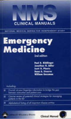 NMS Clinical Manual of Emergency Medicine - National Medical Series for Independent Study (Paperback)