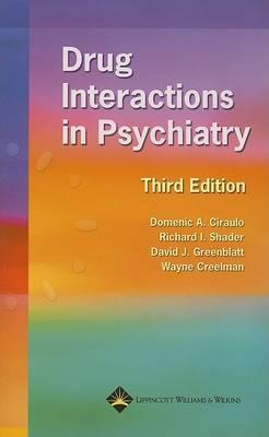 Drug Interactions in Psychiatry (Paperback)