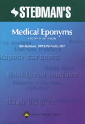 Stedman's Medical Eponyms (Paperback)