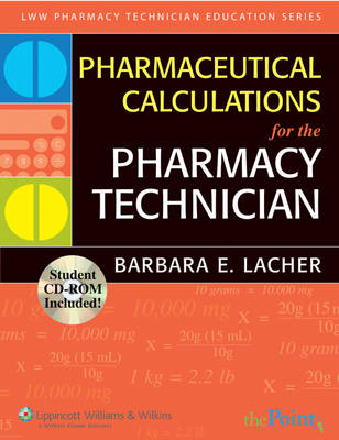 Pharmaceutical Calculations for the Pharmacy Technician (Paperback)