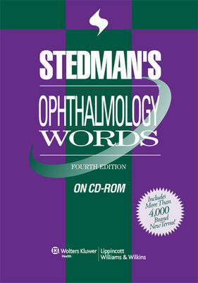 Stedman's Ophthalmology Words on CD-ROM (CD-ROM)