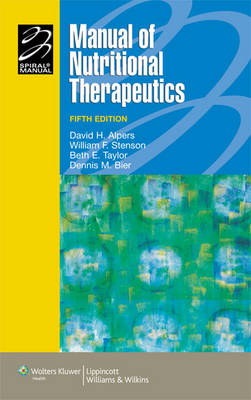 Manual of Nutritional Therapeutics - Lippincott Manual Series (Formerly Known as the Spiral Manual Series) (Paperback)