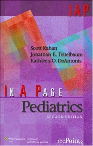 In A Page Pediatrics - In a Page Series (Paperback)
