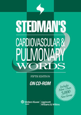 Stedman's Cardiovascular & Pulmonary Words on CD-ROM (CD-ROM)