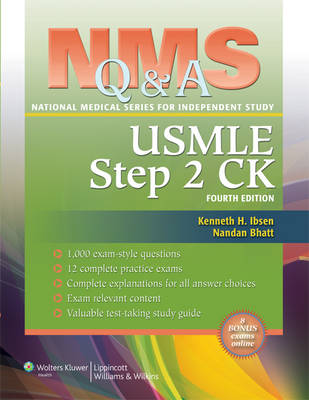 NMS Q&A Review for USMLE Step 2 CK - National Medical Series for Independent Study (Paperback)