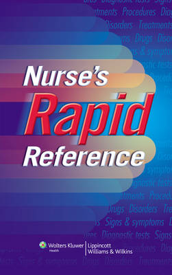 Nurse's Rapid Reference (Hardback)