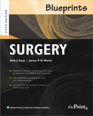 Blueprints Surgery - Blueprints (Paperback)