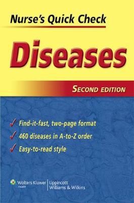 Nurse's Quick Check: Diseases (Paperback)