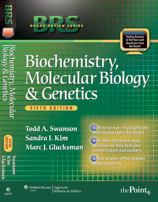 BRS Biochemistry, Molecular Biology, and Genetics - Board Review Series (Paperback)