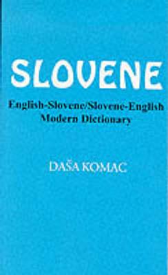 English-Slovene/Slovene-English Modern Dictionary (Paperback)
