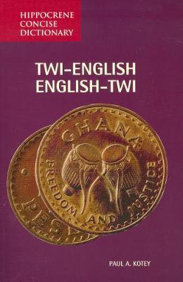 Twi-English / English-Twi Concise Dictionary (Paperback)