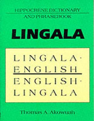 Lingala-English/English-Lingala: Dictionary and Phrasebook (Paperback)