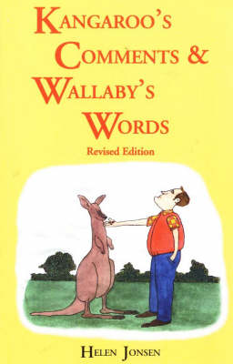 Kangaroos' Comments and Wallabys' Words - An Aussie Word Book (Paperback)