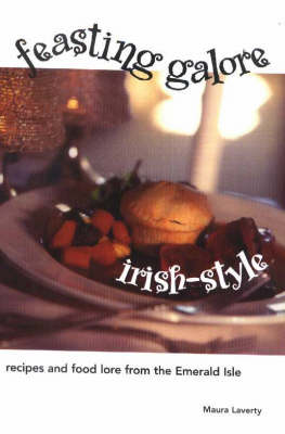 Feasting Galore Irish-Style: Recipes and Food Lore from the Emerald Isle (Hardback)