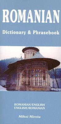 Romanian-English / English-Romanian Dictionary & Phrasebook (Paperback)