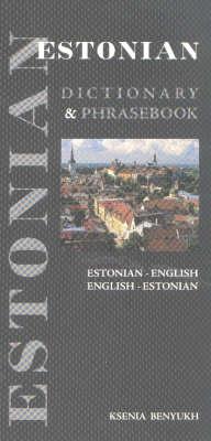 Estonian-English/English-Estonian Dictionary and Phrasebook (Paperback)