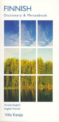 Finnish-English / English-Finnish Dictionary & Phrasebook (Paperback)